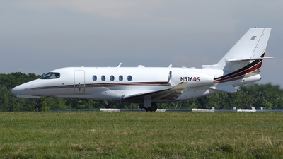 N516QS - Cessna Citation Latitude - NetJets Aviation