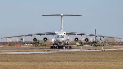 RF-94283 - Ilyushin IL-78M Midas - Russia - Air Force