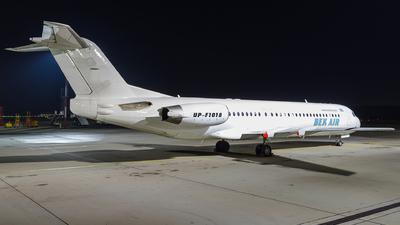 A picture of UPF1018 - Fokker 100 - Bek Air - © Gleb Borzyakov