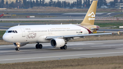 5A-LAP - Airbus A320-214 - Libyan Airlines