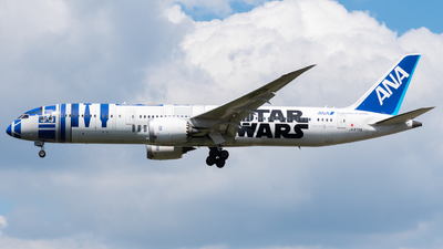 A picture of JA873A - Boeing 7879 Dreamliner - All Nippon Airways - © Yari Ghys