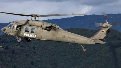 PNC-0618 - Sikorsky UH-60A Blackhawk - Colombia - Police