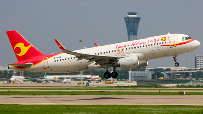 B-1659 - Airbus A320-214 - Tianjin Airlines