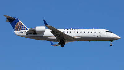 N416AW - Bombardier CRJ-200ER - United Express (Air Wisconsin)