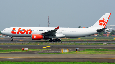 PK-LEH - Airbus A330-343 - Lion Air