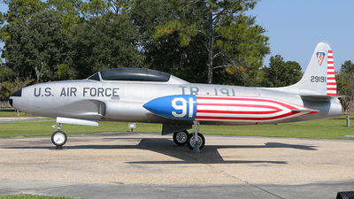 52-9191 - Lockheed T-33A Shooting Star - United States - US Air Force (USAF)