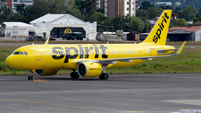 A picture of N916NK - Airbus A320271N - Spirit Airlines - © OSCAR GUILLEN