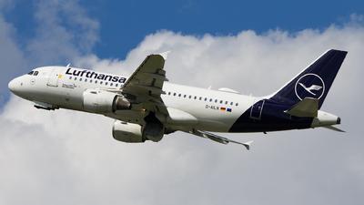D-AILN - Airbus A319-114 - Lufthansa