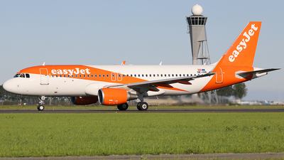 A picture of OEIVR - Airbus A320214 - easyJet - © AviaStar Photography