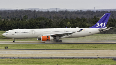LN-RKN - Airbus A330-343 - Scandinavian Airlines (SAS)