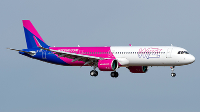 HA-LVH - Airbus A321-271NX - Wizz Air