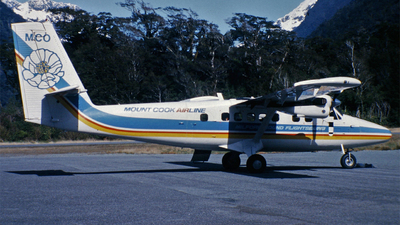 ZK-MCO - De Havilland Canada DHC-6-300 Twin Otter - Mount Cook Airlines