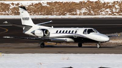 A picture of N59DF - Cessna 560 Citation V - [5600098] - © Alex Crail