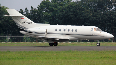 PK-YGR - Hawker Beechcraft 800XP - Private