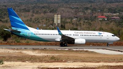 PK-GFG - Boeing 737-8BK - Garuda Indonesia