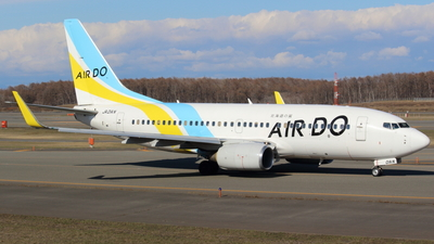 JA01AN - Boeing 737-781 - Air Do (Hokkaido International Airlines)