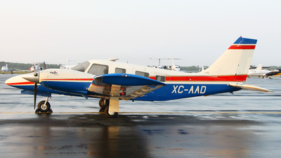 XC-AAD - Piper PA-34-220T Seneca V - Mexico - Government