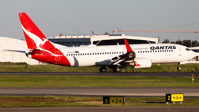 A picture of VHVXU - Boeing 737838 - Qantas - © Brandon Giacomin