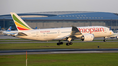 ET-ARE - Boeing 787-8 Dreamliner - Ethiopian Airlines
