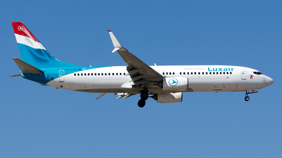 A picture of LXLGV - Boeing 7378C9 - Luxair - © Alp AKBOSTANCI