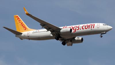TC-AMP - Boeing 737-82R - Pegasus Airlines