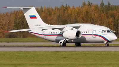 A picture of RA61716 - Antonov An148100E - Rossiya  Special Flight Squadron - © KomradAlexey