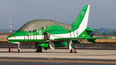 8821 - British Aerospace Hawk Mk.65A - Saudi Arabia - Air Force