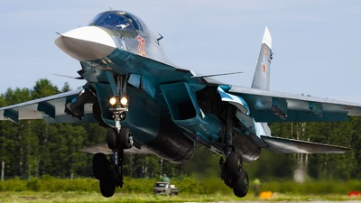 RF-95004 - Sukhoi Su-34 Fullback - Russia - Air Force