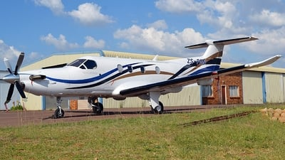 ZS-PGN - Pilatus PC-12/47E - Private