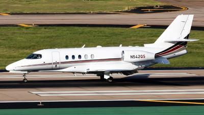A picture of N542QS - Cessna 680A Citation Latitude - NetJets - © Dayon Wong