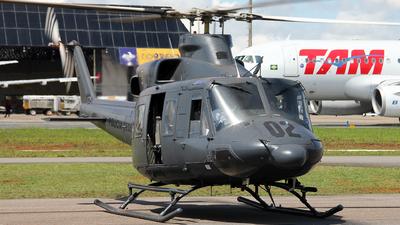 PT-HRH - Bell 412 - Brazil - Federal Police