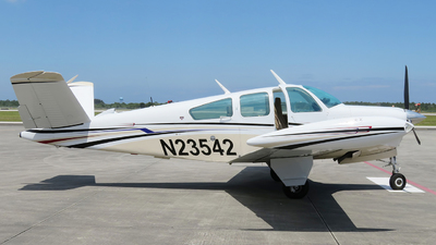 N23542 - Beechcraft V35B Bonanza - Private