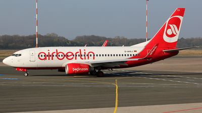 D-AHXJ - Boeing 737-7K5 - Air Berlin