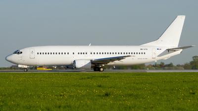 OM-GTB - Boeing 737-49R - CSA Czech Airlines (Go2Sky)
