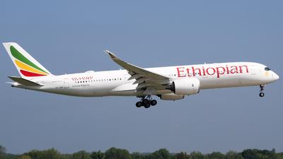 A picture of ETAVB - Airbus A350941 - Ethiopian Airlines - © subing27