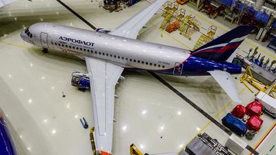 A picture of RA89064 - Sukhoi Superjet 10095B - Rossiya - © Gleb Borzyakov - AviMedia