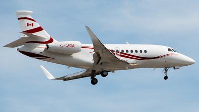 C-GSBC - Dassault Falcon 2000S - Private