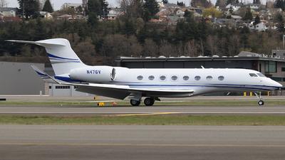 N476V - Gulfstream G650ER - Private