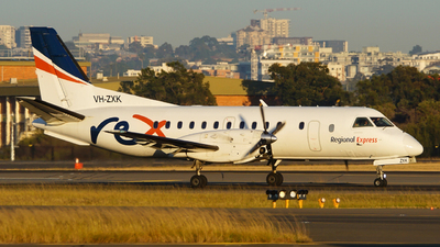 VH-ZXK - Saab 340B+ - Regional Express (REX)
