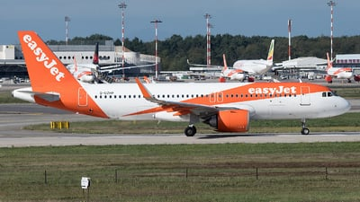 A picture of GUZHP - Airbus A320251N - easyJet - © Gianluca Mantellini