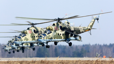 RF-95323 - Mil Mi-35M Hind - Russia - Air Force