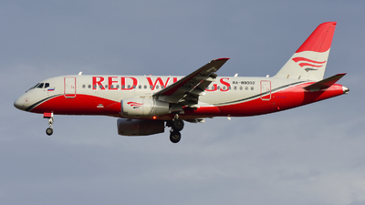 RA-89002 - Sukhoi Superjet 100-95B - Red Wings
