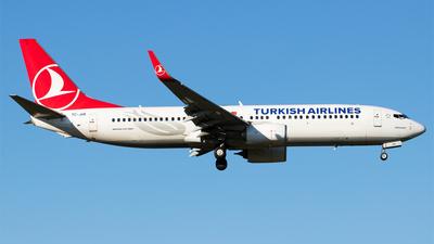 A picture of TCJHK - Boeing 7378F2 - Turkish Airlines - © Melanie Niedermeier