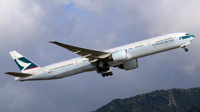 B-KQX - Boeing 777-367ER - Cathay Pacific Airways