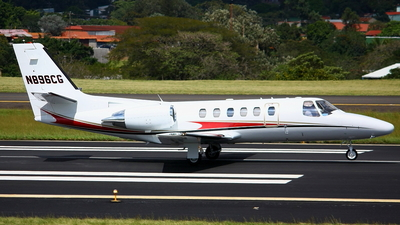 N896CG - Cessna 550B Citation Bravo - Private