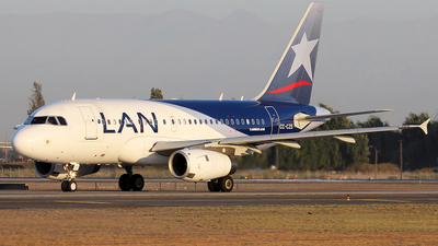CC-CZS - Airbus A318-121 - LAN Airlines