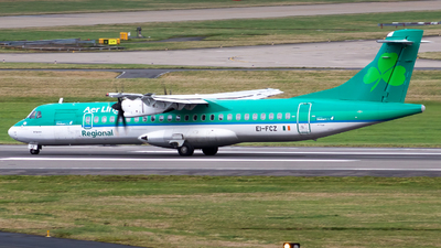 A picture of EIFCZ - ATR 72600 - Stobart Air - © Toby G