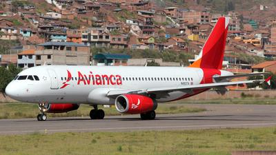 N493TA - Airbus A320-233 - Avianca