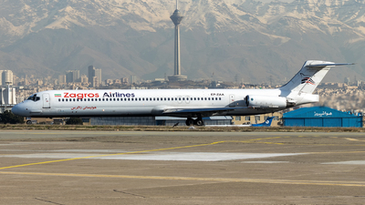 EP-ZAA - McDonnell Douglas MD-82 - Zagros Airlines