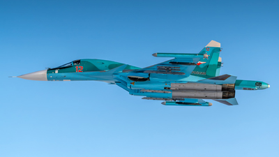 12 - Sukhoi Su-34 Fullback - Russia - Air Force